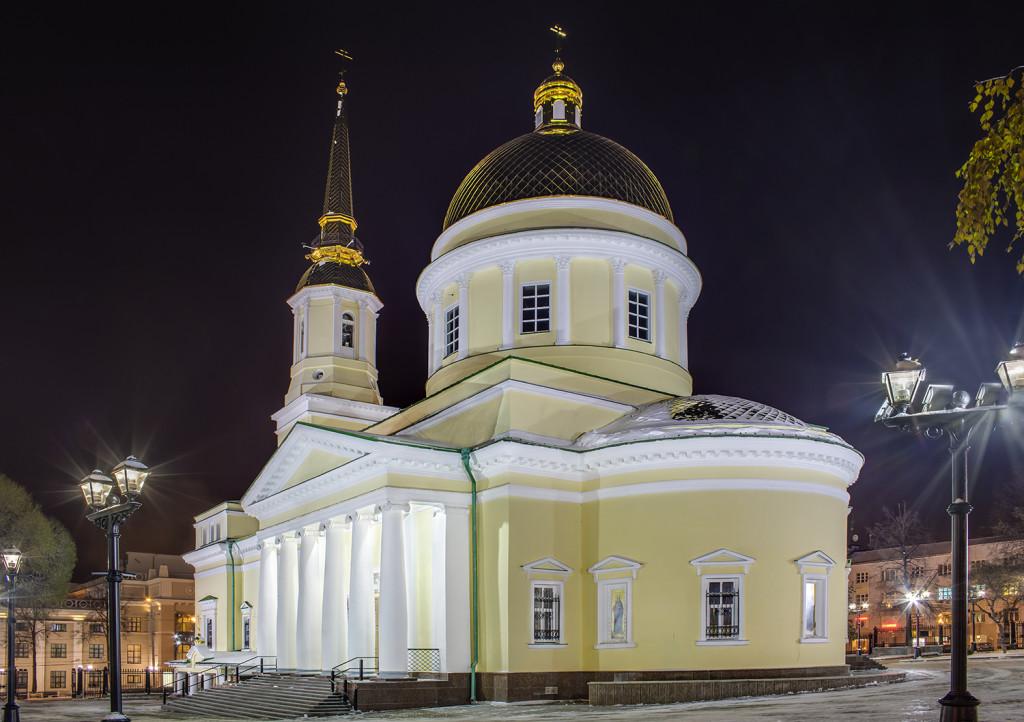 Александро-Невский собор г. Ижевск