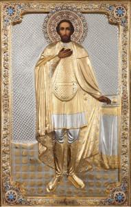 икона Святаго благоверного великого князя Александра Невского.